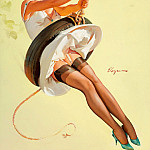 Gil Elvgren - Swinging Sweetie