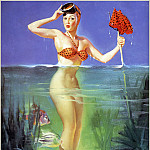 Gil Elvgren - Cos_057_Gil_Elvgren_Surprising_Catch