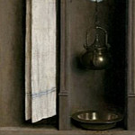 Niche with Wash Basin, Jan van Eyck