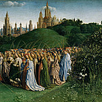 Adoration of the Lamb , Jan van Eyck