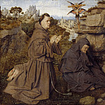 Saint Francis of Assisi Receiving the Stigmata, Jan van Eyck