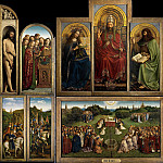 The Ghent Altarpiece , Jan van Eyck