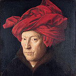 Portrait of a Man , Jan van Eyck
