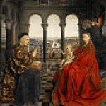 Madonna of Chancellor Rolin, Jan van Eyck