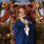 Madonna by the Fountain, Jan van Eyck