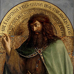 St John the Baptist, Jan van Eyck
