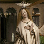 Mary of the Annunciation, Jan van Eyck