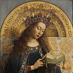 Virgin Mary, Jan van Eyck