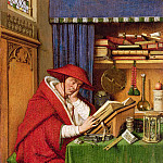 Saint Jerome in His Study, Jan van Eyck