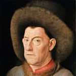 Man with pinks, Jan van Eyck