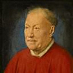 Cardinal Niccolo Albergati, Papal Envoy in the Spanish Netherlands, Jan van Eyck