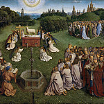 The Adoration of the Mystic Lamb, Jan van Eyck