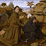Saint Francis of Assisi Receiving the Stigmata , Jan van Eyck