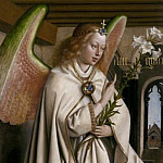 Angel of the Annunciation, Jan van Eyck