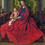 Madonna and Child , Jan van Eyck