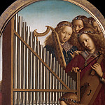 Angels Playing Music, Jan van Eyck