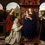 Georges de La Tour - Madonna and Child with Saints and a Donor (and workshop)
