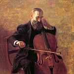 Thomas Eakins - The Cello Player