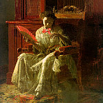 Thomas Eakins - Kathrin, 1872, oil on canvas, Yale University Art Gal
