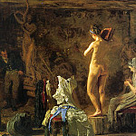 Thomas Eakins - Eakins William Rush Carving his Allegorical Figure of the Sc