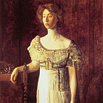 Thomas Eakins - The Old Fashioned Dress-Portrait of Miss Helen Parker