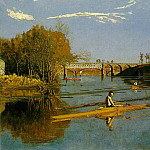 Thomas Eakins - MAX SCHMITT IN A SINGLE SCULL MOMA NY