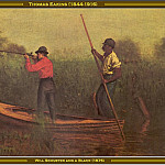 Thomas Eakins - Will Schuster And A Black(1876)