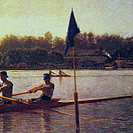 Thomas Eakins - The Biglin Brothers Turning the Stake