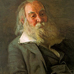 Thomas Eakins - Portrait of Walt Whitman, 1887-88, oil on canvas, Pen
