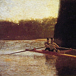 Thomas Eakins - The Pair-Oared Shell