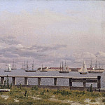 Charles XV of Sweden - View from the Lime-kilns in Copenhagen