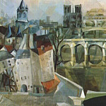 Exter - view of paris 1912