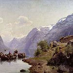 David Klöcker Ehrenstråhl - Bridal Escort on the Hardanger Fiord