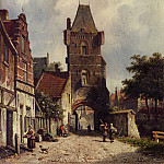 Adrianus Eversen - In The Village