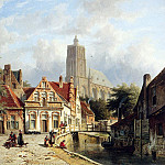 Adrianus Eversen - View in Brielle
