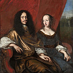David Klöcker Ehrenstråhl - Gustav Adolf (1633-1695), Duke of Mecklenburg-Güstrow. Magdalena Sibylla (1631-1719), of Holstein [Attributed]