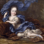 Jacob Heinrich Elbfas - Hedvig Sofia (1681-1708), Princess of Sweden, Duchess of Holstein-Gottorp [Приписывается]
