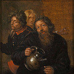 Gustaf Olof Cederström - The Well-Master at Medevi and His Sons [After]