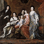 Jacob Heinrich Elbfas - Karl XI (1655-1697), King of Sweden with family [Attributed]