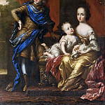 Karl XII, 1682-1718, King of Sweden, his Sisters Hedvig Sofia, 1681-1708, Princess of Sweden [Attributed]