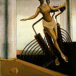 Max Ernst - The wavering woman, 1923, Oil on vanvas 130.5x97.5 cm,