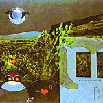 Max Ernst - The Phases of the Night. 1946