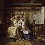 Balthasar Denner - The Convalescent