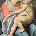Giovanni Battista Rosso Fiorentino - Madonna and Child