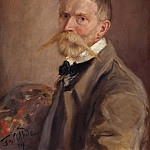 Wilhelm Trubner - Self-portrait