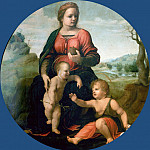 Madonna and Child with the Infant Saint John the Baptist