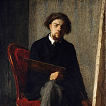 Arnold Böcklin - Self-Portrait