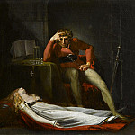 Henry (Fussli Fuseli - The Italian Court, or Ezzelier, Count of Ravenna musing over the body of Meduna slain by him for infidelity during his absence in the Holy Land