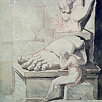 Henry (Fussli Fuseli - The Artist in Despair over the Magnitude of Antique Fragments (right hand and left foot of the Colossus of Constantine)