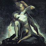 Henry (Fussli Fuseli - Vision of the Deluge from Paradise Lost by John Milton (1608-1674)